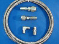 Gotta Show 343360 braided heater hose kit